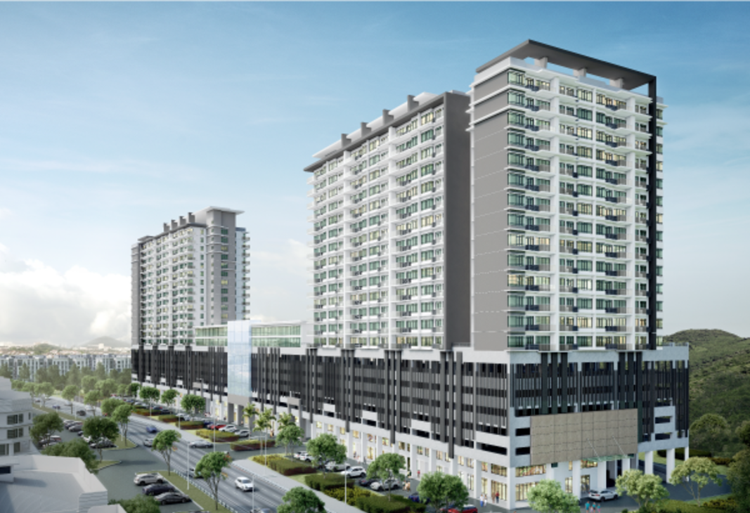 Damai Hillpark Condo